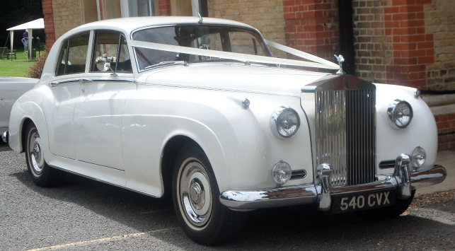 Wedding Car at Camden Place
