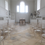 Inside Compton Verney Chapel