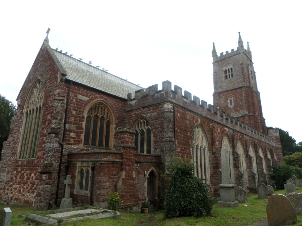 All Saint's Church, Kenton, Devon