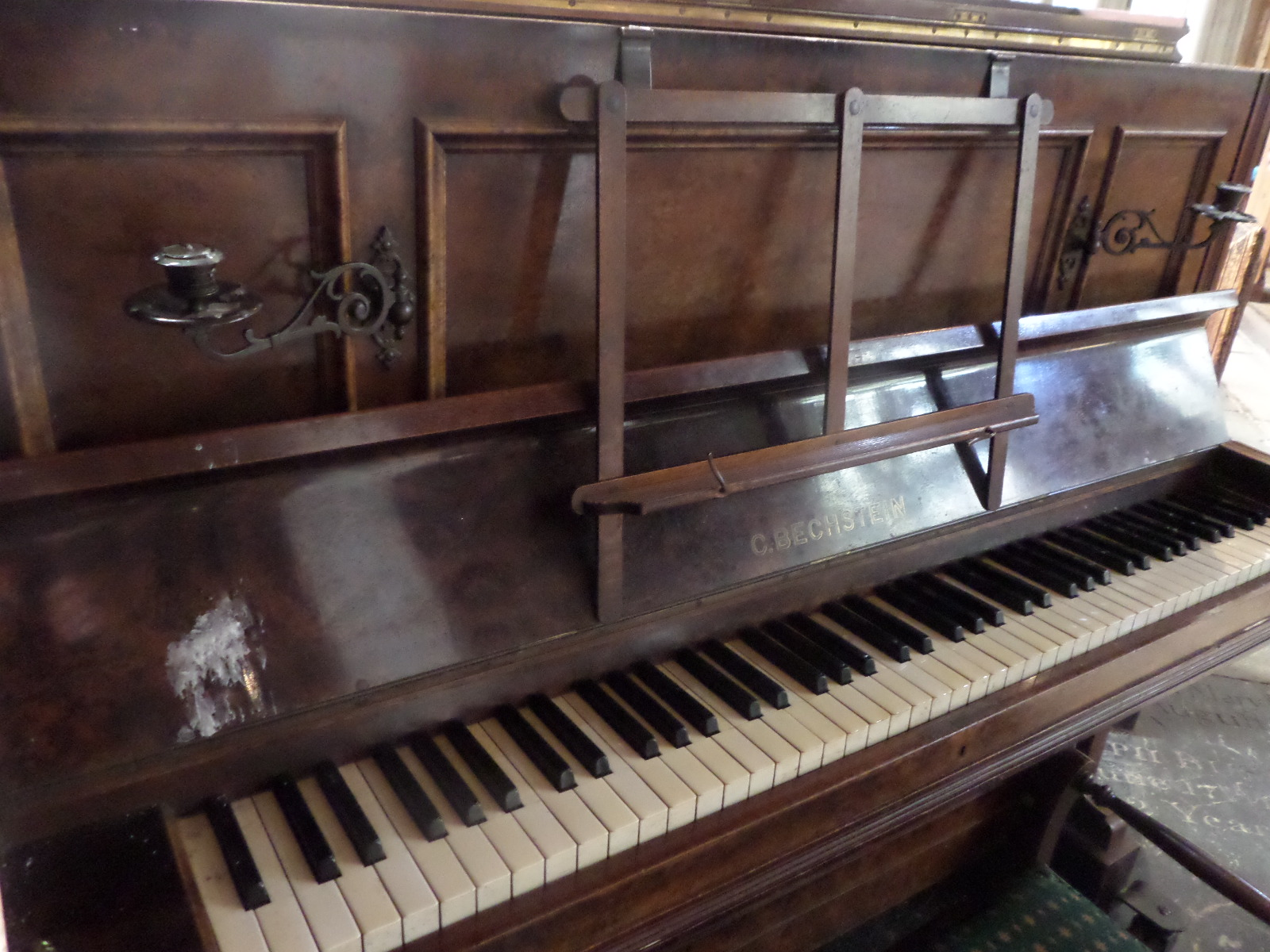 The Old Bechstein Piano
