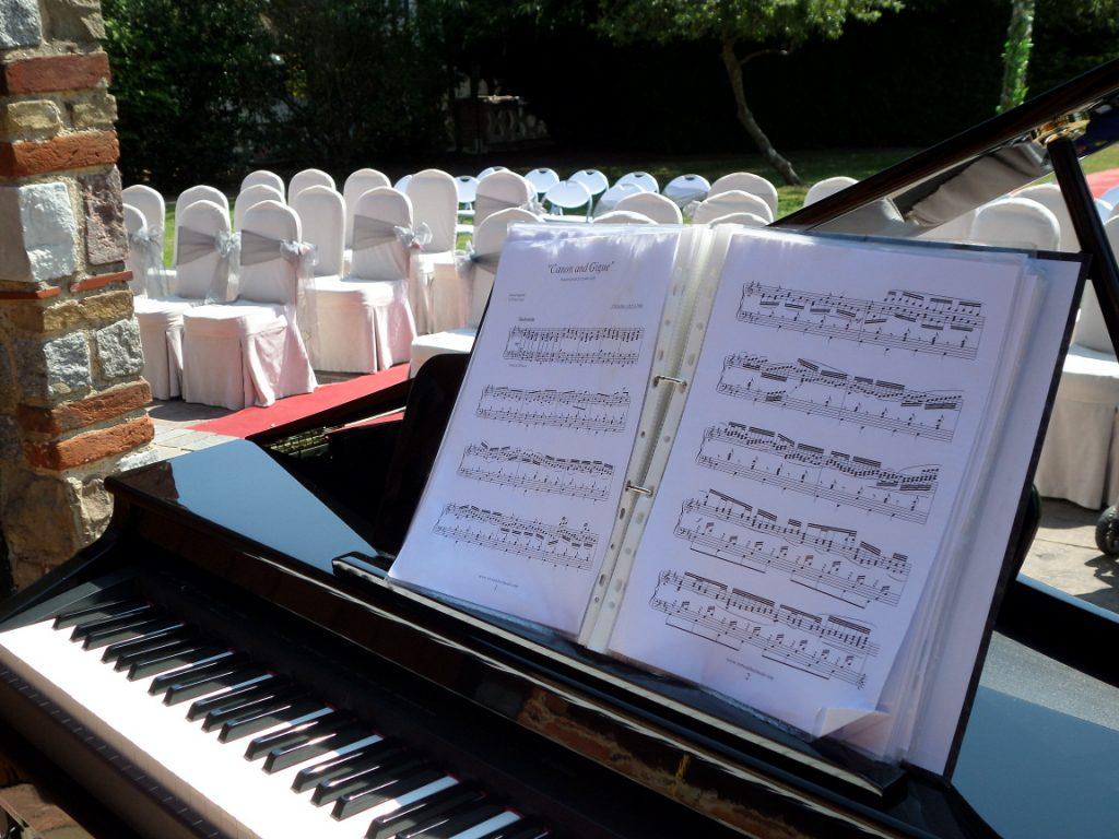 Baby Grand Piano Shell - Wedding Pianist Berkshire