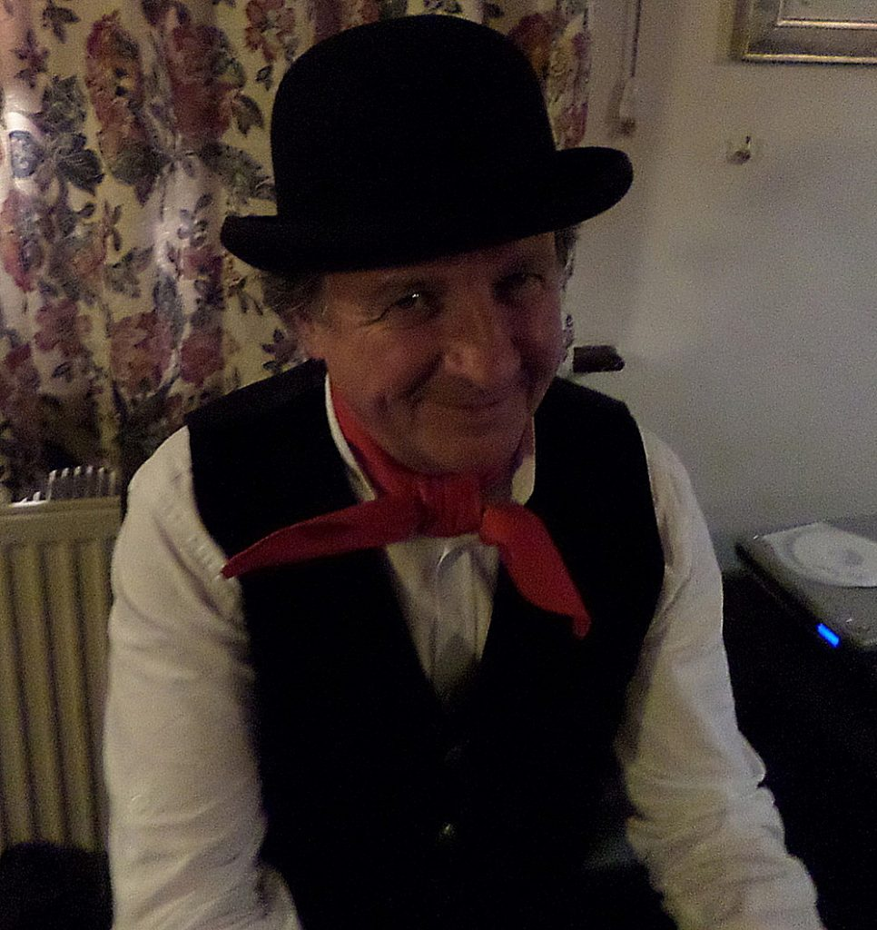 Eugene Dressed as a Cockney
