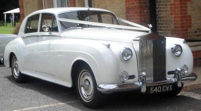 Wedding Car at Camden Place